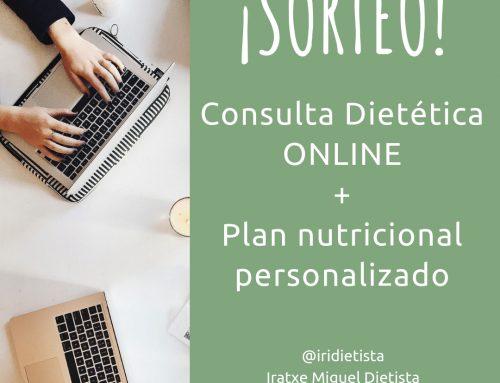 ¡SORTEO! Consulta Dietética y Plan dietético personalizado