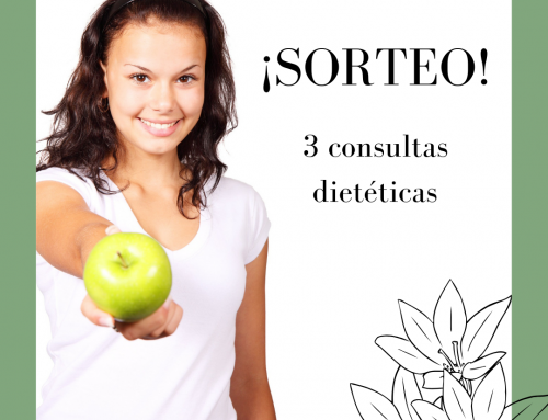 ¡SORTEO! 3 Consultas Dietéticas