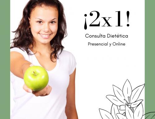 OFERTA: ¡2X1! Dos consultas al precio de 1