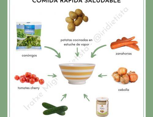 Idea: Comida rápida saludable