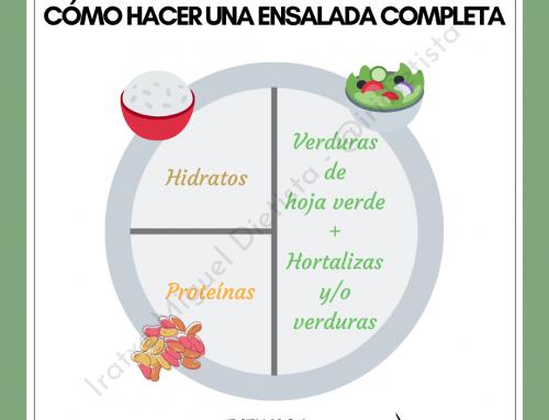 Cómo hacer una ensalada completa