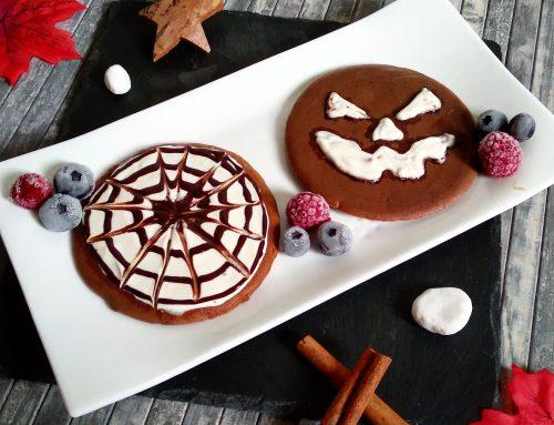 Tortitas de avena sin gluten especial Halloween